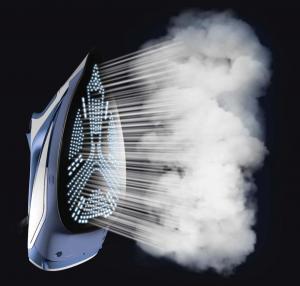 Rowenta Ferro da stiro a vapore DW5210  Acciaio inossidabile 2600 W Blu, Bianco