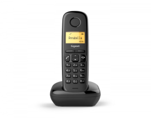 Gigaset A170 Trio Telefono analogico/DECT Nero Identificatore di chiamata