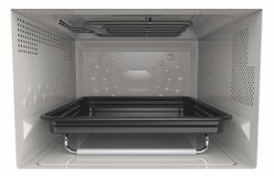 Whirlpool MWF 426 SL Superficie piana Microonde combinato 25 L 800 W Nero, Argento