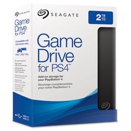 Seagate Game Drive STGD2000400 disco rigido esterno 2000 GB Nero, Blu
