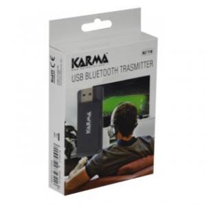 Karma Italiana BLT T1B trasmettitore audio senza fili 3,5 mm 10 m Nero