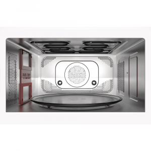 Whirlpool MWP 339 SB Superficie piana Microonde combinato 33 L 900 W Nero, Argento