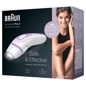 Braun Silk-expert Pro Nuovo 3 PL3011 Epilatore Luce Pulsata, IPL, Epilazione Definitiva