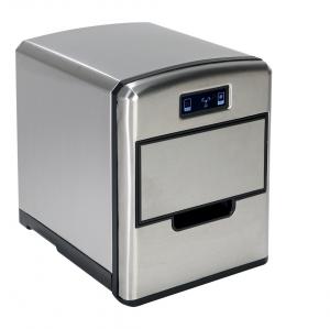 RGV Mojito Ice FG12D Macchina per ghiaccio portatile 12 kg/24h 150 W Nero, Acciaio inossidabile