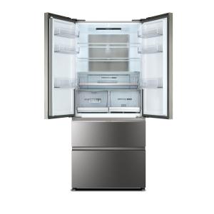 Haier HB18FGSAAA frigorifero side-by-side Libera installazione 508 L Acciaio inossidabile