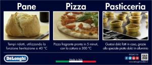 DeLonghi SLM 7N PPP ED forno da incasso elettrico 59lt funzione pizza nero
