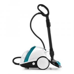 Polti Vaporetto Smart 100_T Pulitore a vapore cilindrico 1500 W Blu, Bianco