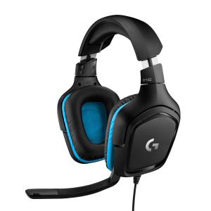 Logitech G G432 Gaming Headset Cuffia Padiglione auricolare Connettore 3.5 mm Nero, Blu