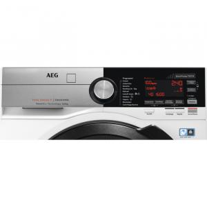 AEG L9WEC169KC lavasciuga Libera installazione Caricamento frontale Nero, Acciaio inossidabile, Bianco C