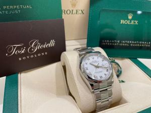 Rolex date just  126200   36mm -  white dial - romani