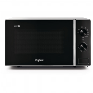 Whirlpool MWP 103 SB Superficie piana Microonde con grill 20 L 700 W Nero, Argento