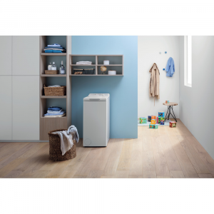 Indesit BTW L60300 IT/N lavatrice Libera installazione Caricamento dall'alto 6 kg 1000 Giri/min D Bianco