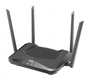 D-Link DIR-X1560 router wireless Gigabit Ethernet Dual-band (2.4 GHz/5 GHz) Nero