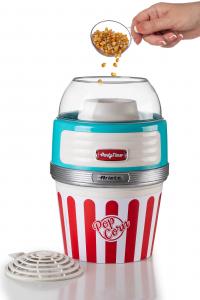 Ariete 2957 macchina per popcorn 1100 W Blu, Rosso, Bianco