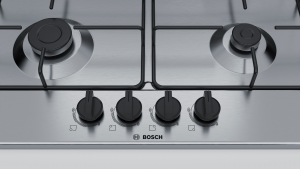 Bosch Serie 4 PGP6B5B85  piano cottura da incasso 60cm 4 fuochi inox