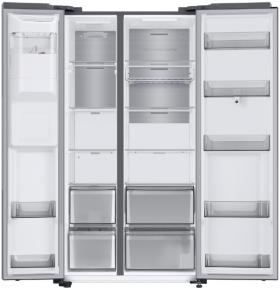 Samsung RS6HA8891SL frigorifero side-by-side Libera installazione 591 L E Grigio