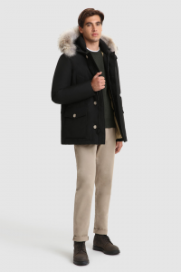 SHOPPING ON LINE WOOLRICH ARTIC ANORAK CON PELLICCIA REMOVIBILE  NEW COLLECTION FALL/WINTER 2022-2