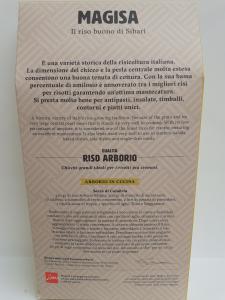 Riso Arborio 1 kg ditta Magisa srl di Villapiana (CS)