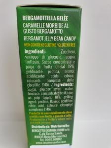 Caramelle Gelèe morbidissime al Bergamotto della ditta La Spina Santa di Bova Marina (RC)