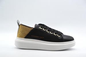 NOVITA' A/I 2021 Alexander Smith Calzatura Donna-Black/Gold E116011