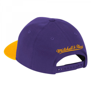Mitchell&Ness Cappello Wool 2 Tone Team Lakers