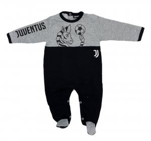 Tutina in felpa Juventus neonato da 1 a 12 mesi autunno inverno 2021 2022