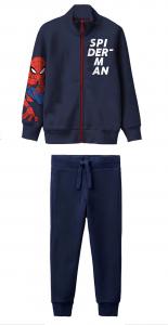 Tuta Spiderman bambino 3 4 5 6 7 anni Interno felpato