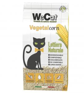 WeCat - Vegetal Corn - Lettiera Vegetale - 6 litri