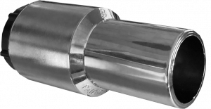 Manicotto Raccordo girevole Nichelato ( interruttore) per sistemi aspirazione centrallizata  valido per tubo 32int/38-39est mm