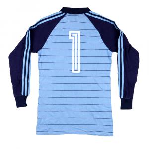 1981-82 Real Sociedad #1 Arconada Adidas Maglia M (Top)