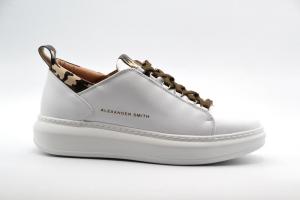 Novità A/I 2021 Alexander Smith Calzatura Uomo-White Camo W110281