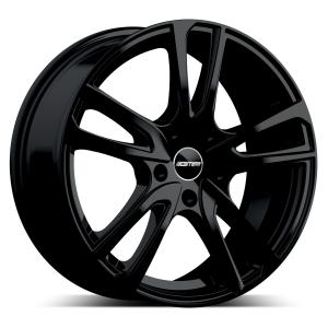 Cerchi in lega  GMP Italia  Astral  17''  Width 7   5x100  ET 43  CB 57,1 O.E. VW    Glossy Black