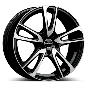 Cerchi in lega  GMP Italia  Astral  17''  Width 7   5x112  ET 45  CB 57,1 OE VW    Black Diamond