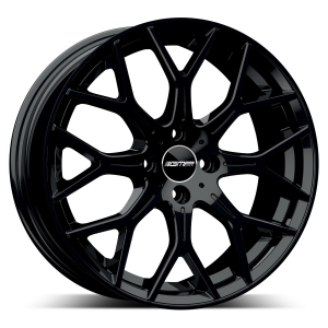 Cerchi in lega  GMP Italia  N80  17''  Width 7   4x98  ET 35  CB 58,1 OF FIAT    Glossy Black