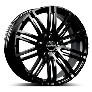 Cerchi in lega  GMP Italia  Targa  20''  Width 9   5x130  ET 58  CB 71,6    Glossy Black