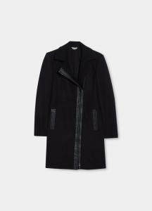 LIU JO WF1033T4605 Cappotto con maxi zip