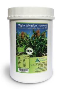 MIGLIO SELVATICO MARRONE biologico da 750 g.