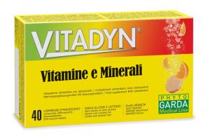 VITADYN VITAMINE/MINERALI 40 COMPRESSE EFFERVESCENTI