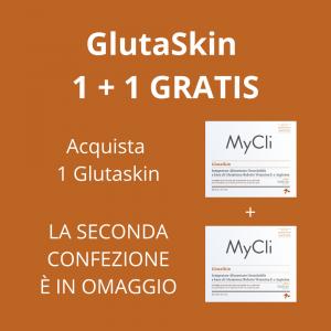 GlutaSkin Integratore Alimentare Orosolubile a base di Glutatione Ridotto Vitamina E e Arginina 28 buste