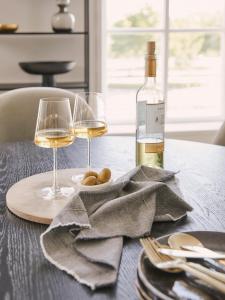 Set di 6 calici da vino bianco Power 400 ml, in cristallo senza piombo