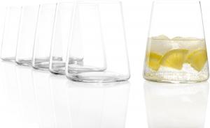 Set di 6 bicchieri da vino bianco Power 380 ml, in cristallo senza piombo