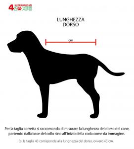Impermeabile Double Face con Disegno cani
