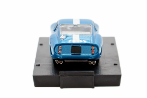Ferrari 250 Gto Blu Genziana Metallizzato 1962 Chassis 3387 - 1/43 Brumm 100% Made In Italy