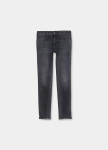 LIU JO UF1012D4254 Jeans skinny ecosostenibile con strass denim blu
