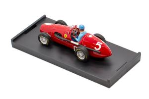 Ferrari 500F2 Gran Bretagna 1953 Alberto Ascari - 1/43 Brumm 100% Made In Italy