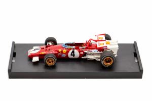 Ferrari 312b Italian Gp 1970 Clay Regazzoni - 1/43 Brumm 100% Made In Italy