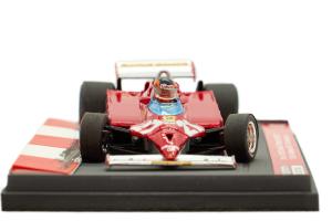 Ferrari 126 CK Turbo Gp Monaco Montecarlo 1981 1° Gilles Villeneuve #27 Ltd 250 Pcs - 1/43 Brumm 100% Made In Italy