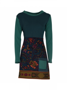 Abito corto donna in fantasia   Abbigliamento Baba Design