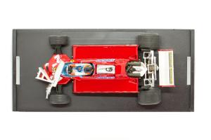 Ferrari 126 CK Turbo GP Canada 1981 Gilles Villenuve 55-56 Lap - 1/43 Brumm 100% Made In Italy