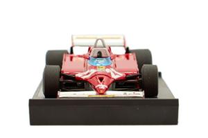 Ferrari 126ck Turbo Gp Montecarlo 1981 Villeneuve - 1/43 Brumm 100% Made In Italy
